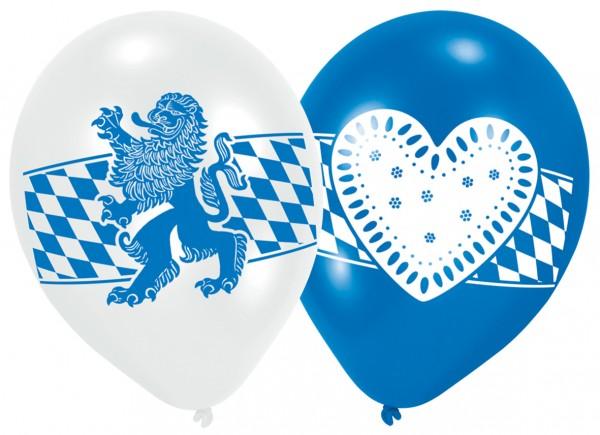 6 Münchener Oktoberfest Ballons