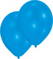 10er-Set Luftballon Blau 27,5cm