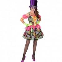 Dia De Los Muertos Knochen Kostüm Für Damen