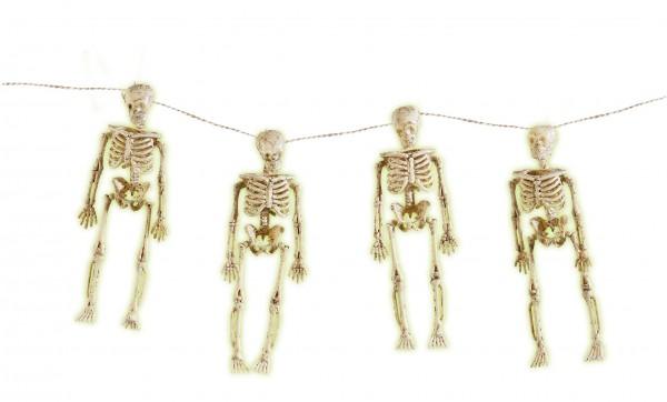 Skelett Girlande 150cm