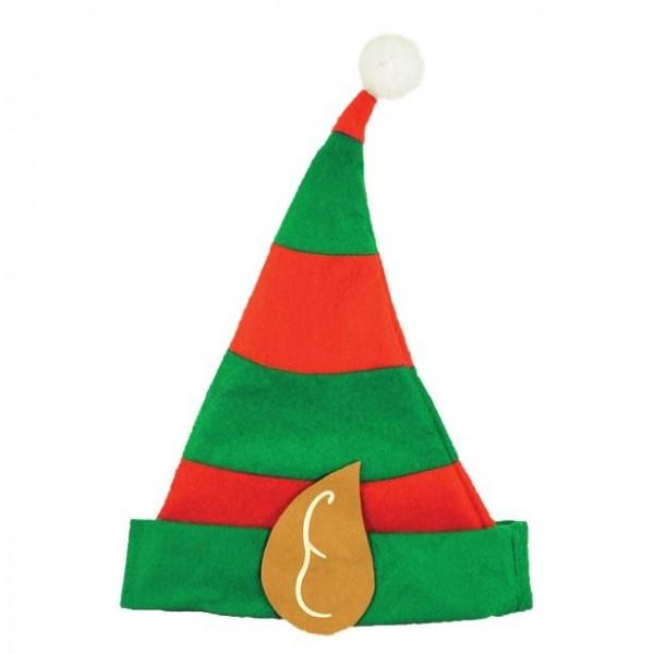 Weihnachtselfen Mütze für Kinder