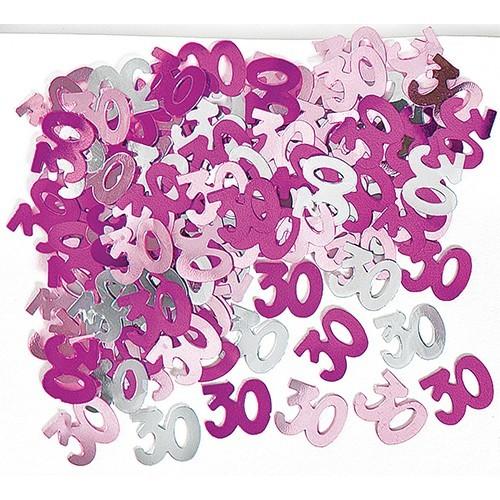 30. Geburtstag Pinkes Streudeko Wunder 1