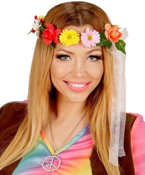 8cbf300829a11c Flower Power Hippie Haarband | Party.de