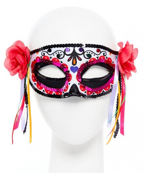 Tag der Toten Rosen Maske