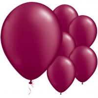 25 Latexballons burgunderrot 28cm
