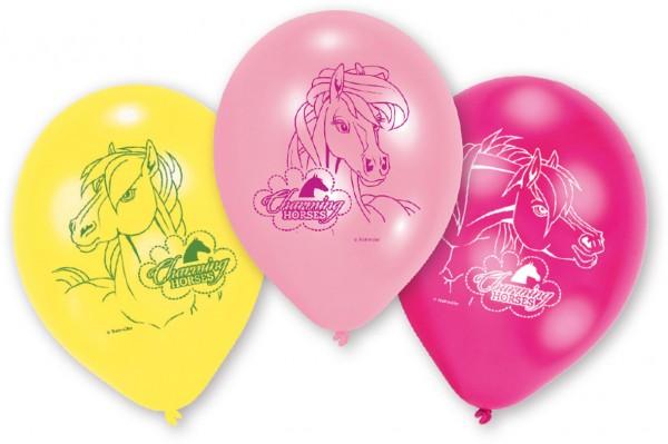 6 Luftballons wundervolle Pferdewelt