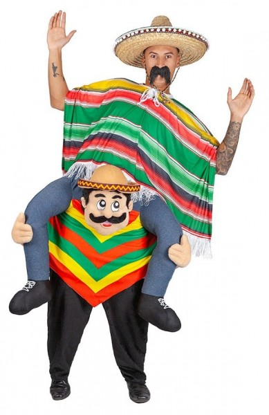 Wild Mexican Piggyback Costume
