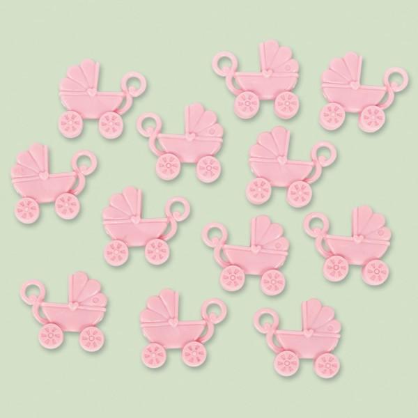 12 Streudeko klapvogne pink