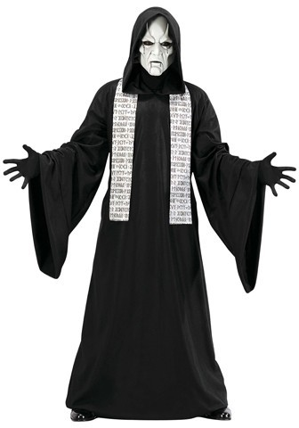Halloween costume horror ghost phantom disciples of death