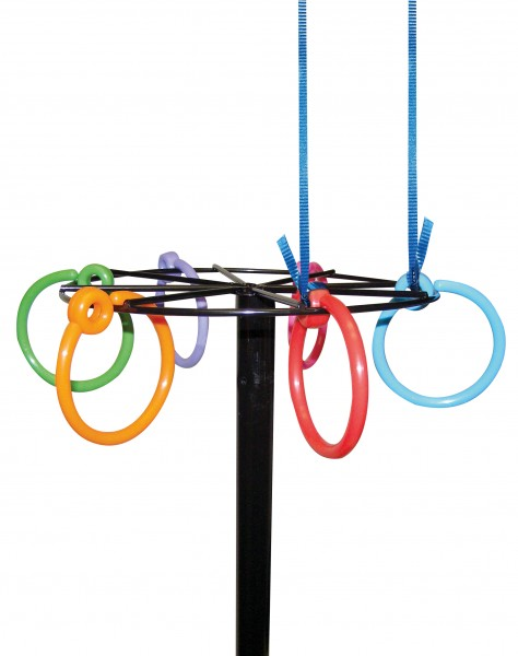 Colourful Balloon Ring Weight