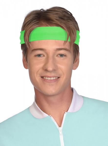 2 neon headbands Viva 80s