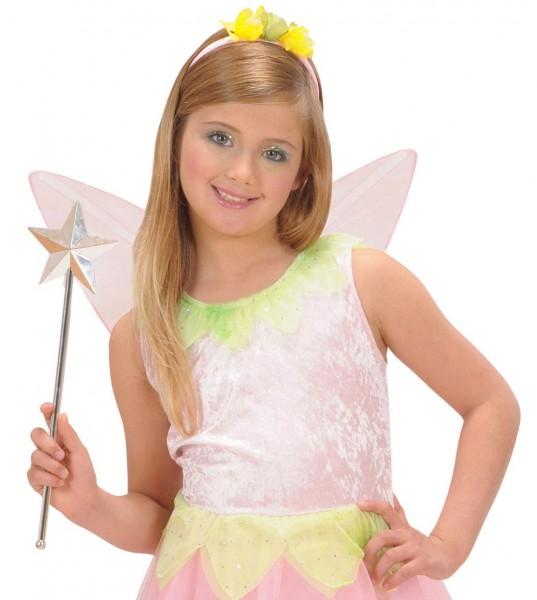 Shiny fairy wand with star
