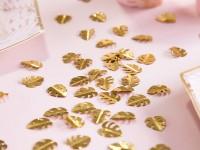 Goldene Monstera Blätter Streudeko 15g