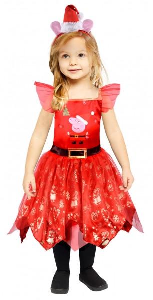 Peppa Wutz Kinder Weihnachtskostüm
