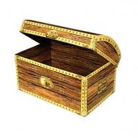 Piratenschatz Kiste 20cm