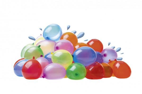 100 Bunte Wasserbomben Aqua Fun 12cm