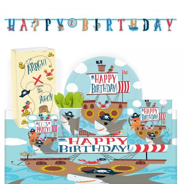 Party Set Ahoy Birthday 51-teilig