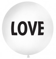 XXL Riesenballon Love 1m
