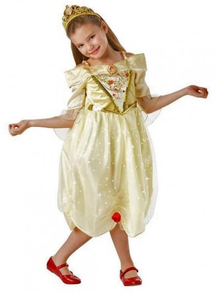 Prinzessin Bella Glitzer Kinderkostüm