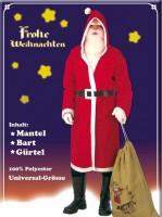 Santa Claudius Kostüm-Set 3-teilig