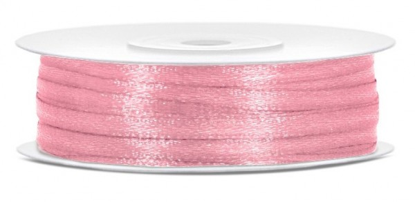 Nastro regalo in raso rosa brillante 50m