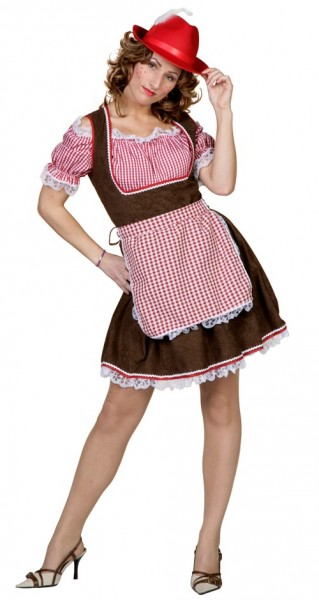 Hüttengaudi Dirndl Kostüm