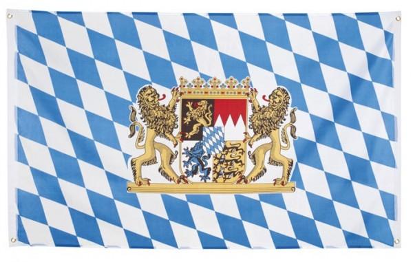 Bavarian Oktoberfest flag