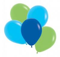 12 Luftballons Neptun 3 Farben 30cm