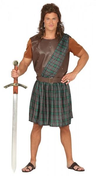 Scots krijger herenkostuum