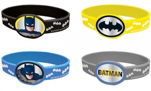 4 Batman Hero Armbänder