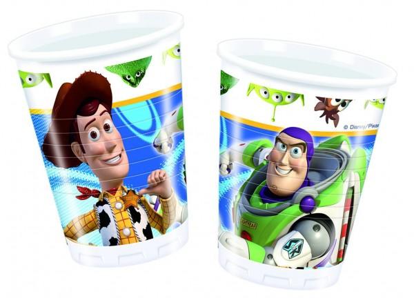 Toy Story Power Kunststoffbecher 10er Set