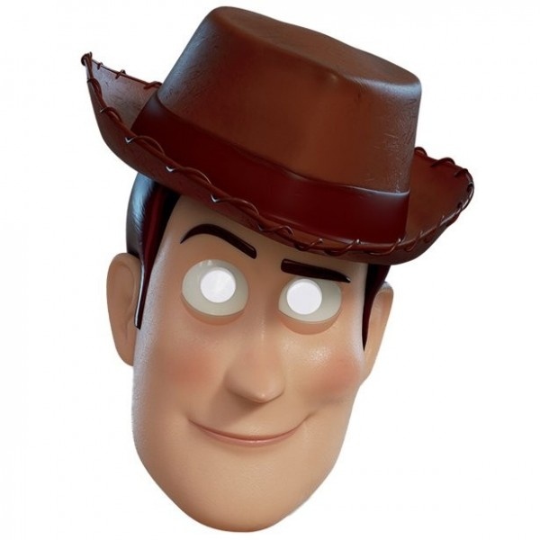 Masque Woody 3D de Toy Story