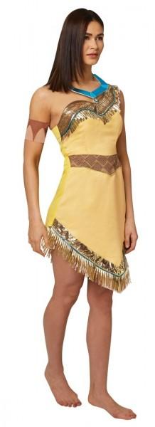 Stolze Pocahontas Kostüm für Damen