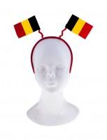 Belgien Haarreif mit Fähnchen