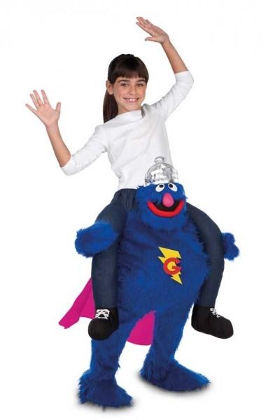 Huckepack Supergrobi Kostüm für Kinder