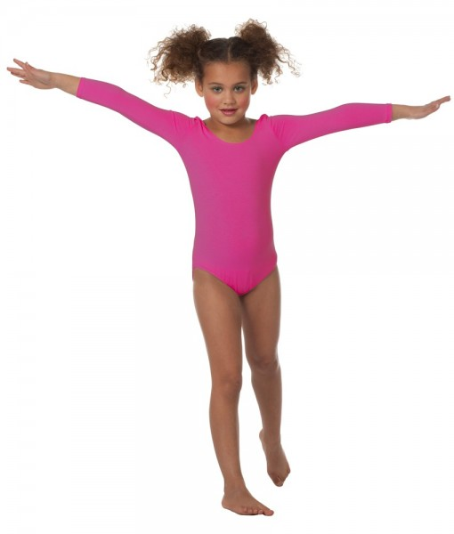 Body rose classique pour filles