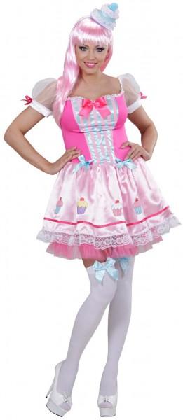 Backfee Ine Cupcake Kostüm Für Damen Rosa
