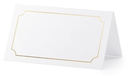 10 Tischkarten Fenice 9,5 x 5,5cm