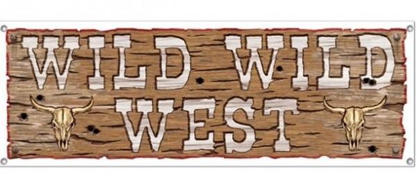 Wild Wild West Banner 1,52m