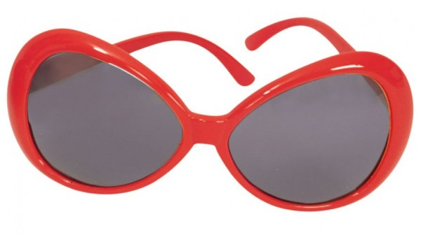 Rote Summer In The 70s Sonnenbrille