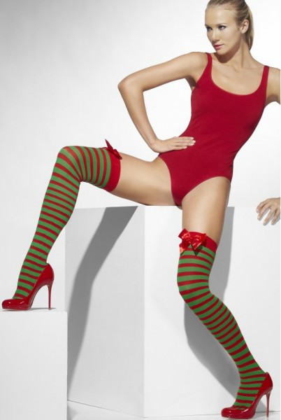 Green-red stockings