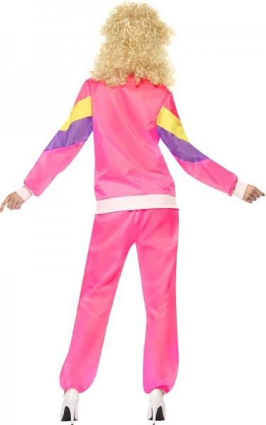 80er Jahre Retro Jogger In Pink