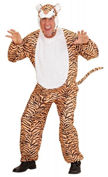 Hungriges Tiger Herrenkostüm
