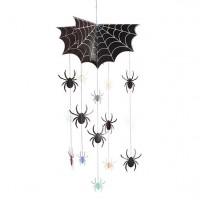 Halloween Spinnen Mobile 64cm