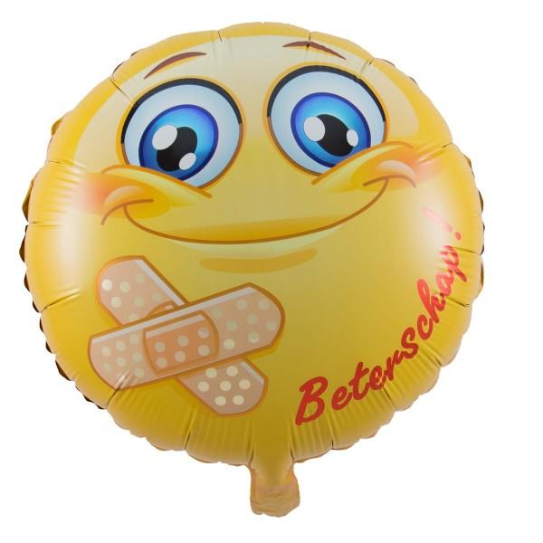 Ballon aluminium Smiley Beterschap 45cm