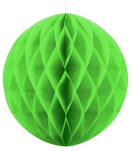 Honeycomb Ball Divertente mela verde 30cm