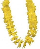 Hawaiianische Blumenkette Gelb