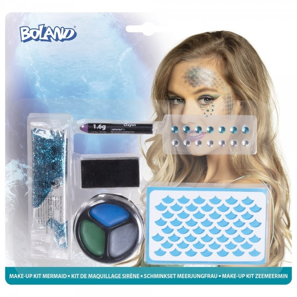 Deep Sea Mermaid Make-Up Set 6-teilig