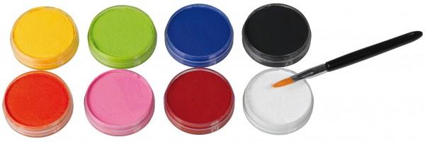 Make-up palette Aqua colors