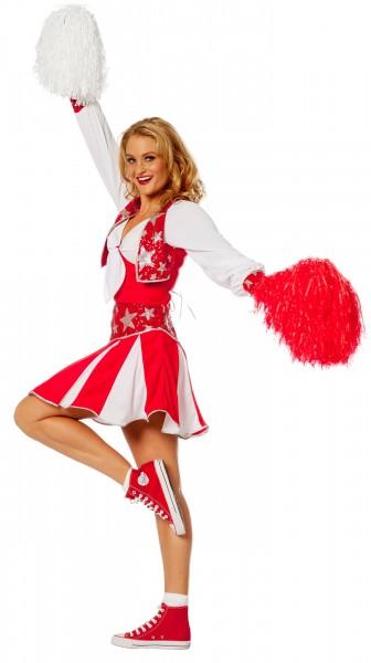 Chayenne Cheerleaderin Damenkostüm